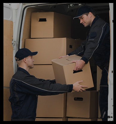 Movers Boxes Truck